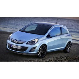 Blade front bumper for Opel Corsa D phase 2