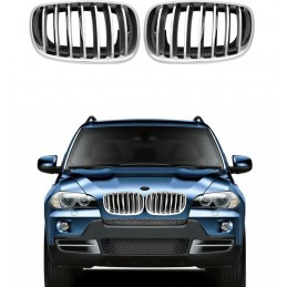 Grill for BMW X6 chrome