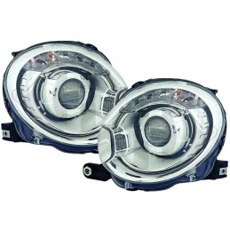 FIAT 500 look xenon front lights