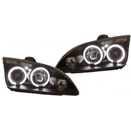 Front lights angel eyes Ford Focus