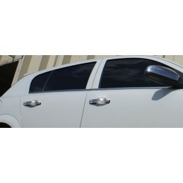 Opel Astra J tailgate with chrome door handles