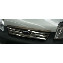 Grille chrome alu 1 Pcs stainless steel FORD CONNECT wand