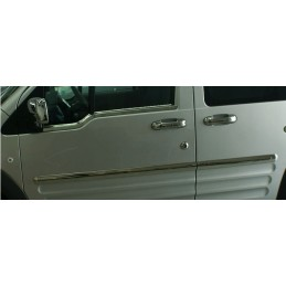 Outline of window chrome aluminum 2 Pcs stainless steel FORD CONNECT