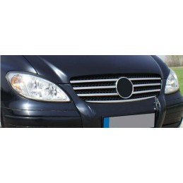 Wand of grille chrome alu 7 Pcs stainless MERCEDES VITO W639