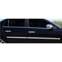 Outline of window chrome alu 4 Pcs stainless OPEL VECTRA C