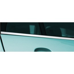 Outline of window chrome alu 4 Pcs stainless TOYOTA VERSO