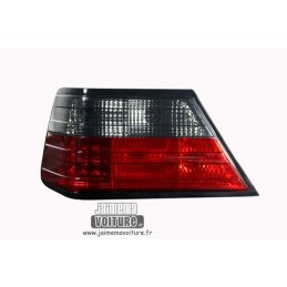 Mercedes W124 smoked red LED rear lights