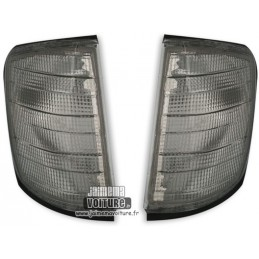 Pair of blinkers Mercedes class W124 silver gray