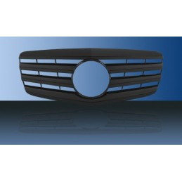 Black grille painted for...