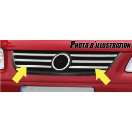 Wand of grille chrome aluminum 2006-2010 Toyota Verso