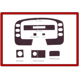 Trims dashboard for FORD...