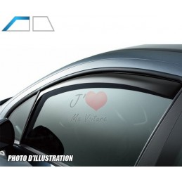 Pair of deflectors FORD FIESTA after 2009