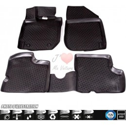 Alfombra goma 3D Ford Focus III