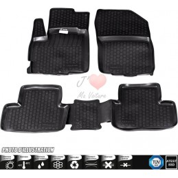 Ford S - Max rubber floor mats