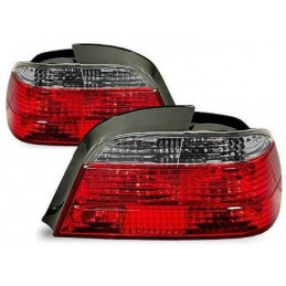 BMW series 7 E38 red smoked rear lights