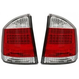 Opel Vectra C rear red white LED lights