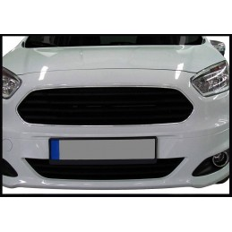 Added chrome bumper before 2014 Ford Tourneo Courier-[...]