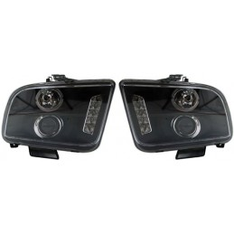 Front led Ford Mustang lights