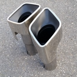 Range Rover Sport tailpipes tips