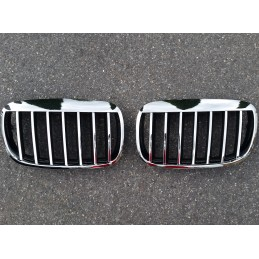Chrome grille BMW E70 X 5 tuning grid