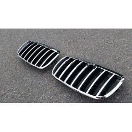 Chrome grille design for BMW X 6