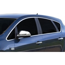 Outline of window chrome Opel Astra