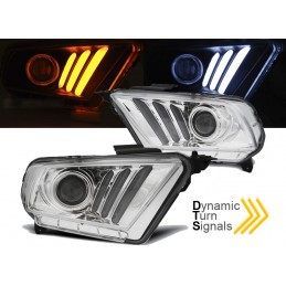 Headlights front led Ford Mustang V 2010-2013