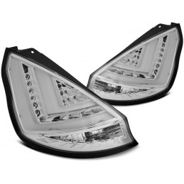 Taillights tube led Ford Fiesta facelift