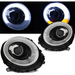 Headlights fronts led Mini Cooper xenon cheap price look