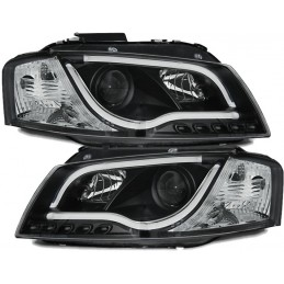Headlights fronts led DRL Audi A3 xenon look