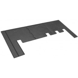 Tapis caoutchouc Ford Tourneo Custom second row of places 12-