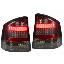 Rear lights with LED Opel Vectra C Smoked