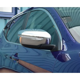 Nissan Juke Chrome Rearview Mirror Cover
