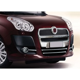 Aluminum chrome plated for grille Fiat Doblo II