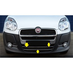 Molding chrome for grille FIAT