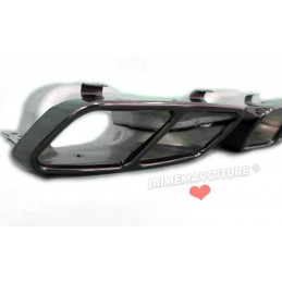 Kit diffuseur Mercedes classe A A45 AMG Facelift EMBOUTS NOIRS