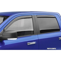 Front deflectors / rear LAND ROVER DISCOVERY III 2005 - 2009