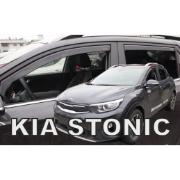 Spoilers front and rear KIA Stonicapres 2010