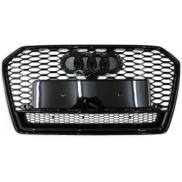 Grille for Audi A6 2015-2018 look RS6 - gray