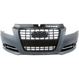 Grille black S for Audi A3 2008 - 2011