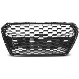 Grille for Audi A4 B9 look RS4 matte black