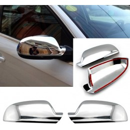 Chrome mirror covers for...