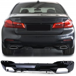 Diffuser bumper rear BMW series 5 G30 Pack M look Performance