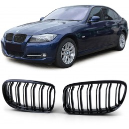 Grille for BMW E90 E91 3 series double bar look Pack M 2008-2011