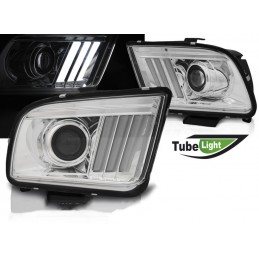 Front headlights chrome Ford Mustang 2005 - 2009
