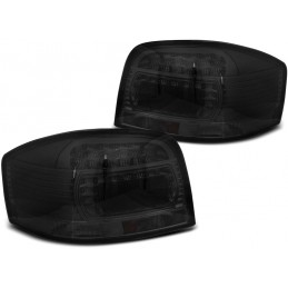 Taillights led for Audi A3 8 p black
