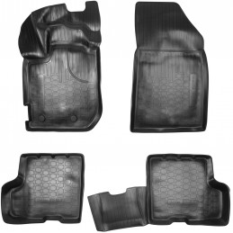 3D rubber carpet for Dacia Duster 4WD 2018-2024