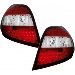 Renault Clio 3 - Lights Led red white rear