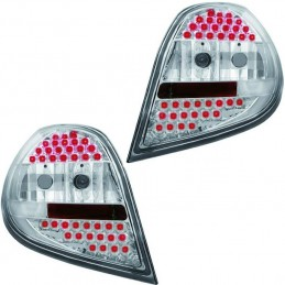 Renault Clio 3 - fires back white Led