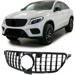 Panamericana grille for Mercedes GLE W166 - BLACK
